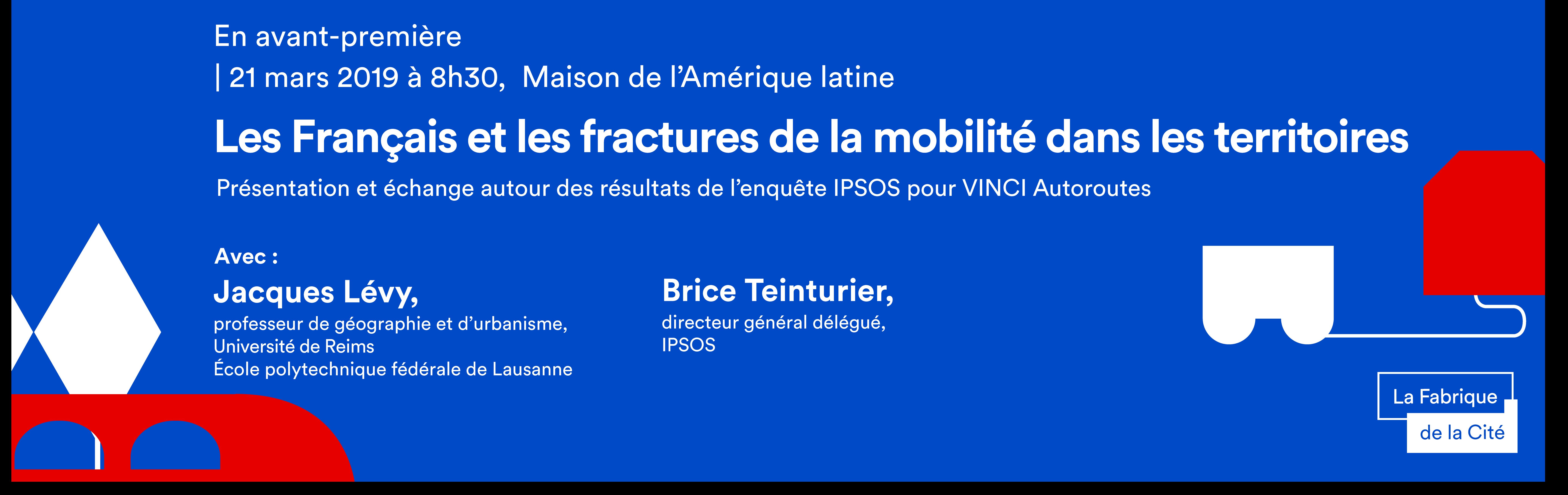 Les Français et les fractures de la mobilité dans les territoires